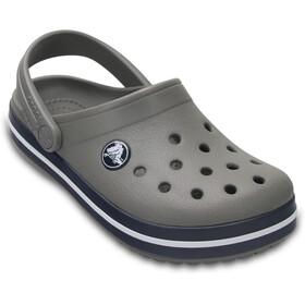 Crocs Crocband Clogs Niños, gris/azul
